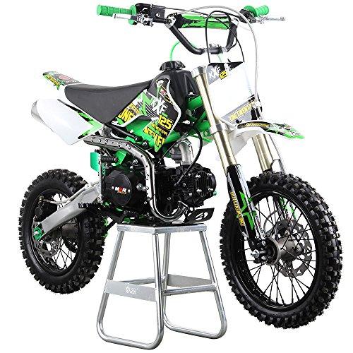 Funbikes M2r Racing Kxf 125 Moto Pit Bike Junior 120 Cc 76 Cm Vert
