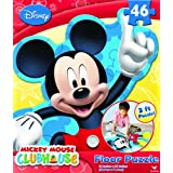 Mickey Mouse Clubhouse Floor Puzzle [Camping - 3 Foot]