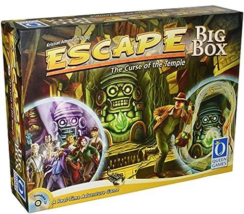 Jeu de société - Escape The Curse Of The Big Box Temple - QUE10092 -. Queen Games