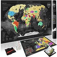 Stai cercando la cartina perfetta per tenere traccia dei tuoi viaggi?  LA RICERCA È FINITA! La tua nuova mappa da grattare è qui - Acquistala OGGI STESSO!  Perché scegliere la nostra...
