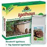 Neudorff Igelhaus inkl. 1 kg Spezial-Igelfutter - Neudorff Igelhaus Bausatz