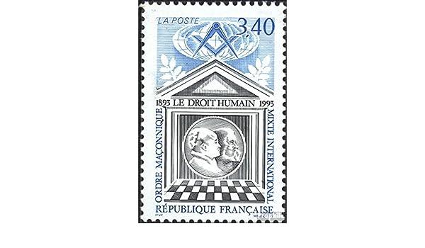 Prophila Collection Francia 2942 completa Edizione Rotary//Lions//massone//Pathfinder Francobolli per i collezionisti 1993 Freemasons