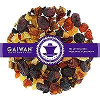 "N° 1371: Tè alla frutta in foglie""Mirtillo Rosso Melograno"" - 250 g - GAIWAN GERMANY - tè in foglie, mirtilli rossi, papaya, mela, rosa canina, barbabietola rossa"