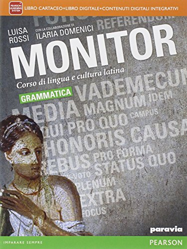 Monitor grammatica. Per i Licei. Con e-book. Con espansione online