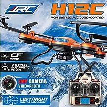 JJRC H12C Modo Headless Una clave para volver RC Quadcopter Con 5MP cámara (Naranja-H12C)