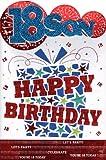 Son 18th Birthday Card - '18 Son, Happy Birthday..Let's Celebrate..'