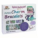 LolliBeads (TM) Make Charm Bracelets Kits 800 + pcs Premium Bracelet Jewelry Making