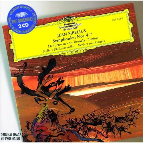 Sibelius: Symphonies Nos.4-7; The Swan of Tuonela; Tapiola (2 CDs)