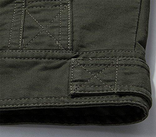 JZWXX - Blouson - Blouson - Homme 9929 Army Green