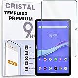 """REY Protector de Pantalla para Huawei MEDIAPAD M6 10 (10.8""""), Cristal Vidrio Templado Premium, Táblet"""