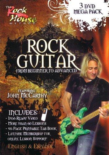 John McCarthy: Rock Guitar 3 DVD Mega Pack (Beginner - Advanced). Für Gitarre