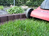 Rasenkante - Beetumrandung Gartenpalisade Midi Plus in Dunkelbraun