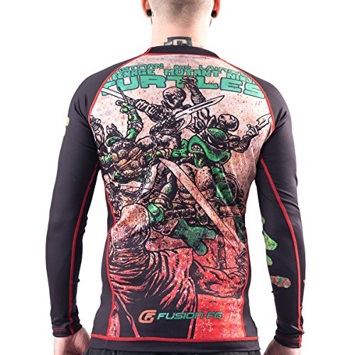 Fusion-Fight-Gear-TMNT-Book-One-BJJ-Rash-Guard-Compression-Shirt