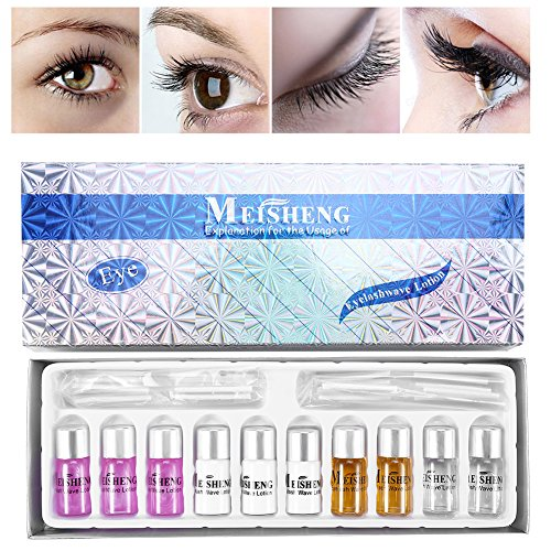Wimpern Wimperndauerwelle Kit, Wimpernverlängerun Liquid Eyelash Wave Wimpern Curler Lotion Set