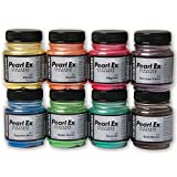Pearl Ex Pigment Chromatic 8 Color Set by Jacquard