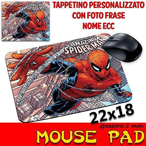 csm Informatica Mauspad mit Motiv Spider Man Comics, 2 mm