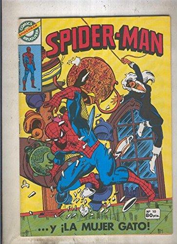 Comics Bruguera: Spiderman numero 10 (numerado 1 en trasera)