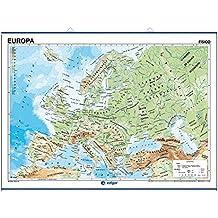 Europa, físico / político: Mapas Murales ()