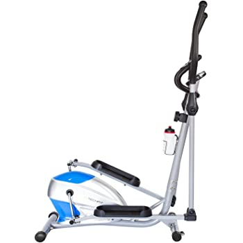 TechFit OptimusCity Cross Trainer, Bicicleta elíptica para el hogar, Máquina de cardio para ejercicios de fitness, Dispositivo de resistencia magnética apta ...