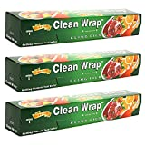 #1: Clear Wrap 30 mtrs Pack of-3 (30*3=90 mtrs) Guaranteed