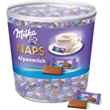 Milka Naps Alpenmilch Chocolate Bars, 1000g by Milka