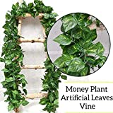 Sk Handloom Udyog SkH Artificial Ivy Garlands Leaves Greenery Hanging Vine Creeper Plants Bunch for Home Decor (Each 6.7 ft)