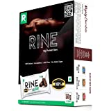 Rine 14g Max Protein Bar  Pack of 6 Protein Bars Sugar Free 100%  High Protein Content Choco Variant   50 gm Nutrition…