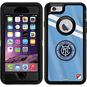 Coveroo Defender Series Cell Phone Case for iPhone 6 - Retail Packaging - New York City FC Jersey