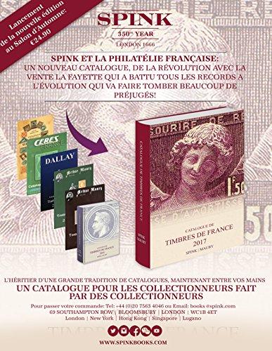Catalogue de timbre de France 2017
