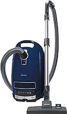 Miele S 8340 Matchwinner PowerLine Bodenstaubsauger (mit Beutel, EEK C, 4, 5 Liter Staubbeutelvolumen, 890 Watt, 12 m Aktionsradius, integriertes dreiteiliges Zubehör) blau