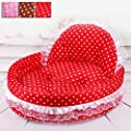 Beautylife77 Lace Princess Dog Cat Kitten Puppy Pet Bed Sofa Cushion Pet House