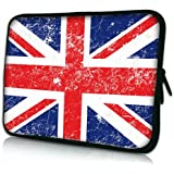 Pedea Design Tablet PC Tasche 10,1 Zoll (25,6 cm) neopren, Union Jack - gut und günstig