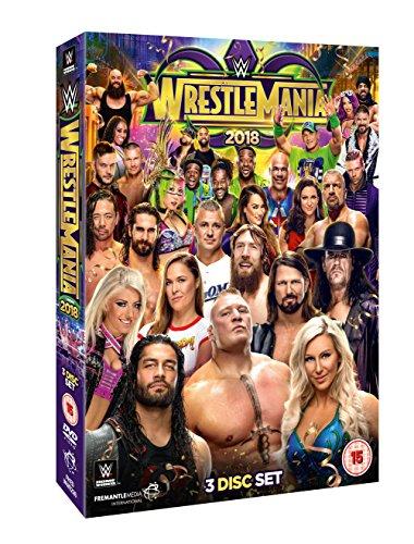 WWE: WrestleMania 34 [DVD] - Wwe-wrestlemania