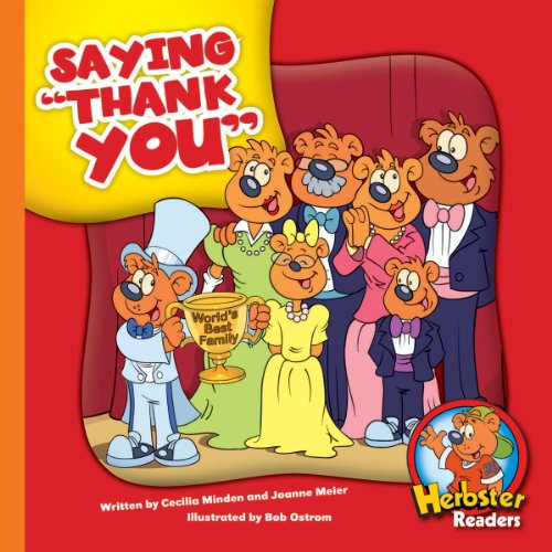 Saying 'Thank You' (Herbster Readers: The First Day of School: Level 2 Readers: Manners)