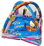 #10: LooMantha® Baby / Kids / Infants Fun Play Gym With Mosquito Net & Pillow (0-12 Months)