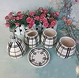 RZC Bagno in ceramica a cinque pezzi Kit da bagno Il tumbler dentale Set di lavaggio