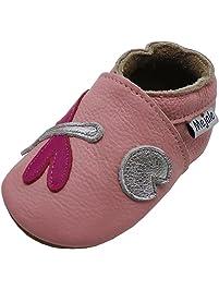 e38e1906d2998e Mejale Karikatur Libelle Leder Babyschuhe Lauflernschuhe Krabbelschuhe  Kleinkind Kinderschuhe Hausschuhe für Mädchen