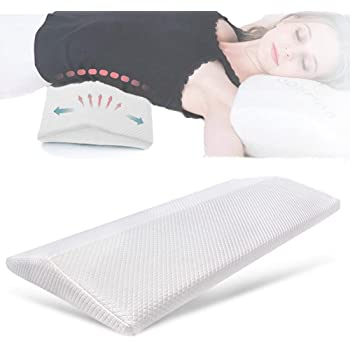 Smelov Sleeping Pillow For Lower Back Pain Memory Foam