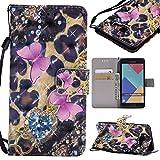 xhd-casos von Mobiltelefonen PU Leder Fall der Ordner Flip Case Abdeckung des der Ordner 3D Glitzer-Design Halterung für Samsung Galaxy A52016A510