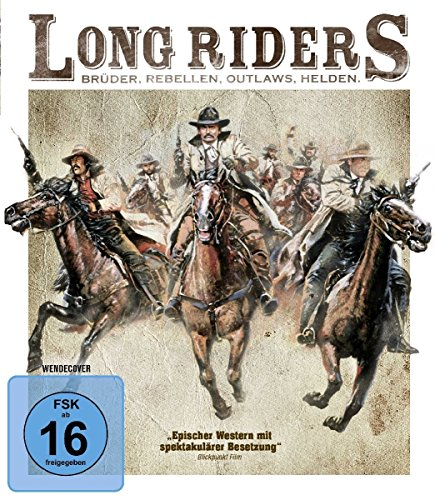 Long Riders - Uncut [Blu-ray]