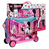 Disney Minnie Smile Kindergepäck, 50 cm, 34 liters, Pink (Rosa)