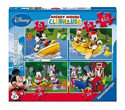 Ravensburger 7232 - Puzzles con diseño de Mickey Mouse (4 unidades) de Ravensburger