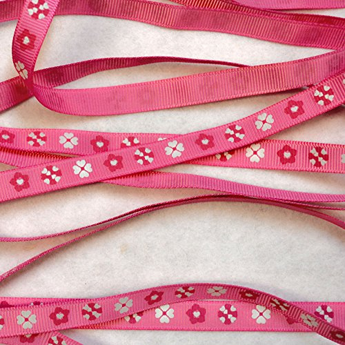 Pink Floral Ripsband (rc0430902) (Floral Pink Calico)