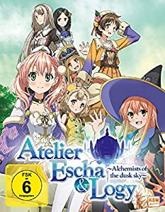 Atelier Escha & Logy - Volume 1/Episode 01-04 im Sammelschuber [Blu-ray] [Limited Edition]