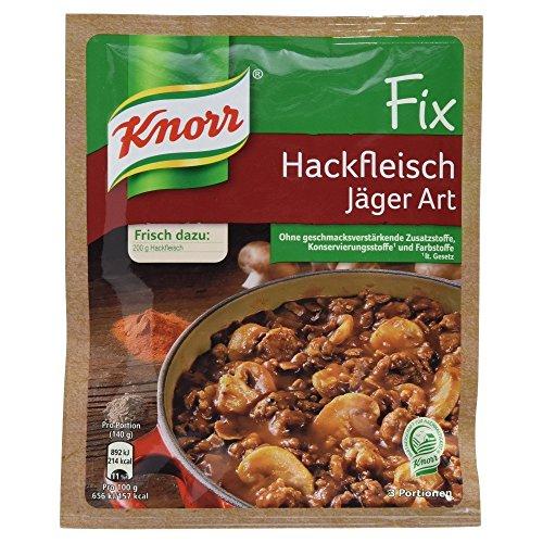 Pilz Fix (Knorr Fix Hackfleisch Jäger Art 3 Portionen (10 x 36 g))