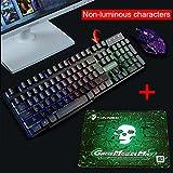UrChoiceLtd Kit claviers et souris gaming pour PC