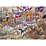 Gibsons Puzzle - I Love The Weekend - 1,000 Piece Jigsaw by Gibsons Games
