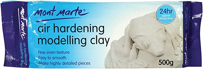 Mont Marte Air Hardening Modelling Clay (White)