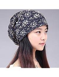 0a5753b6810f0 RangYR Sombrero De Mujer Sra. Cap Casquillo De La Cabeza Del Verano De La  Primavera Gorra De Turbante…