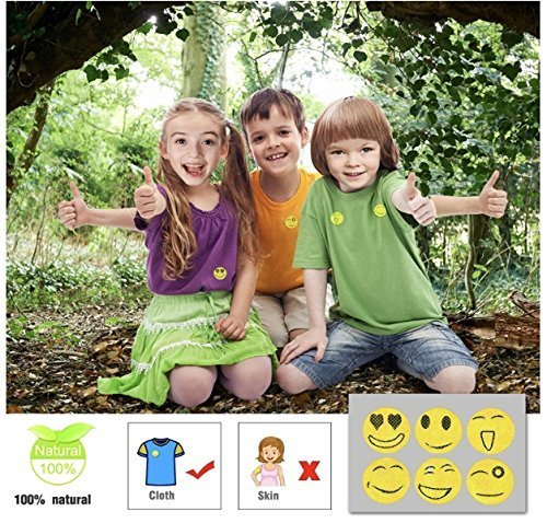 YSense Mosquito Repellent Bracelets 20 Pack Deet Free and Waterproof Insect Repellent Bands for Outdoor /& Indoor-250Hrs of Protection All Natural